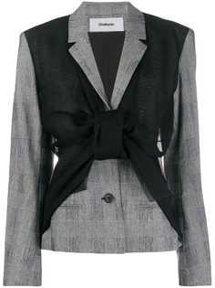 Chalayan куртка асимметричного кроя