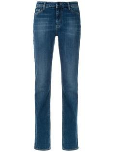 Emporio Armani выбеленные джинсы прямого кроя