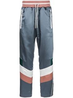Adidas спортивные брюки в стиле колор-блок