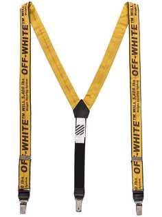 Off-White подтяжки с логотипом