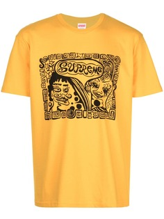 Supreme футболка с принтом