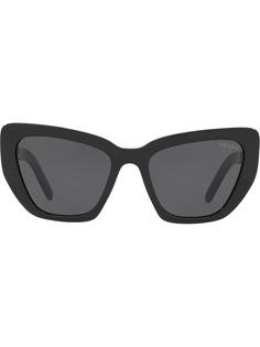 Prada Eyewear солнцезащитные очки Postcard