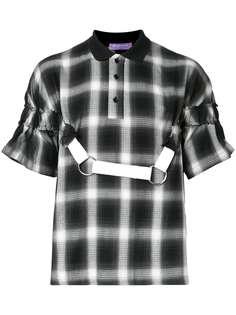 Private Policy футболка-поло с контрастной лямкой