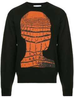 Strateas Carlucci вязаный свитер с принтом Crochead
