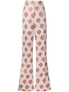 Golden Goose брюки Carry с завышенной талией