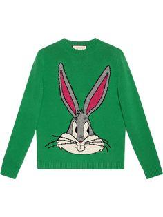 Gucci трикотажный свитер Bugs Bunny