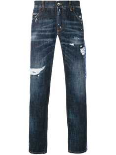 Dolce & Gabbana джинсы с логотипом на лампасах
