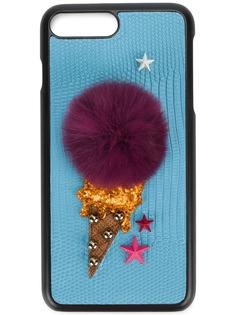 Dolce & Gabbana чехол с отделкой-мороженым для iPhone 7 Plus