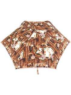 Jean Paul Gaultier Pre-Owned зонт с принтом лиц