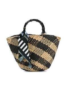 Monnalisa пляжная сумка с платком