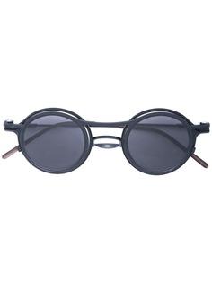 The Viridi-Anne солнцезащитные очки в круглой двойной оправе