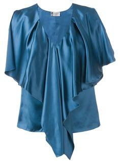 Lanvin блузка с оборками