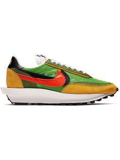 Nike кроссовки LDWaffle Green Gusto из коллаборации с Sacai