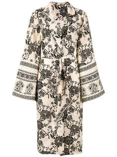 Johanna Ortiz пальто-кимоно