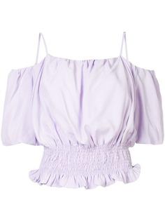 PortsPURE блузка с открытыми плечами