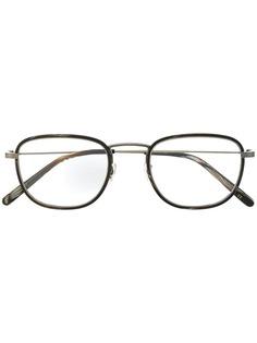 Oliver Peoples солнцезащитные очки в квадратной оправе