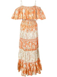 Alice+Olivia легкое платье с цветочным принтом