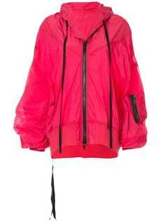 Unravel Project куртка-дождевик с капюшоном