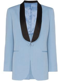 Calvin Klein 205W39nyc двухцветный пиджак-смокинг
