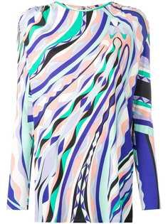 Emilio Pucci блузка с принтом