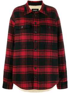 Dsquared2 куртка-рубашка в клетку