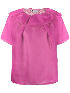 Lanvin футболка с оборками