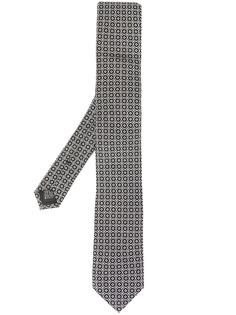 Dolce & Gabbana галстук с геометричным принтом