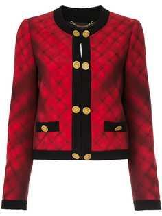 Moschino стеганый пиджак букле