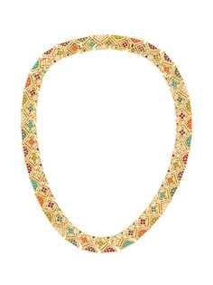 Susan Caplan Vintage ожерелье с камнями