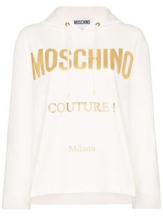 Moschino худи с логотипом