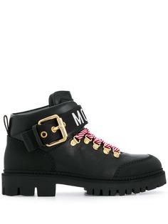 Moschino ботинки по щиколотку