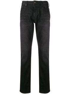 Emporio Armani джинсы узкого кроя