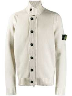 Stone Island button-up knit cardigan