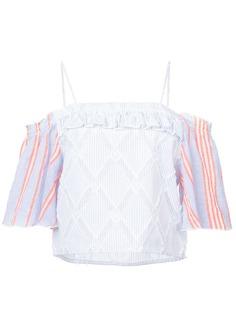 Lemlem блузка с открытыми плечами Besu