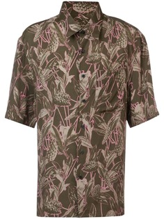 Lanvin рубашка с принтом