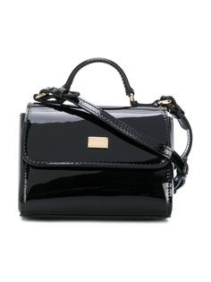 Dolce & Gabbana Kids сумка на плечо с откидным клапаном