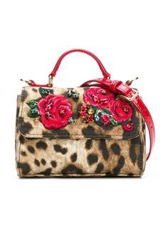 Dolce & Gabbana Kids сумка на плечо с вышивкой