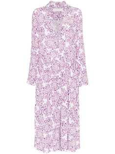 See By Chloé платье-рубашка с цветочным принтом