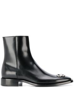 Balenciaga ботинки с логотипом BB