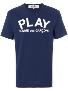 Comme Des Garçons Play футболка с логотипом
