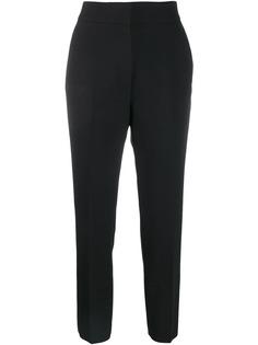 MSGM укороченные брюки кроя слим
