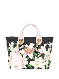 Dolce & Gabbana маленькая сумка-шопер Capri с принтом