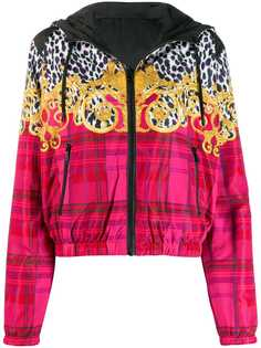 Versace Jeans Couture худи на молнии Leo Baroque