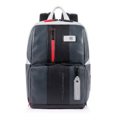 Рюкзак Piquadro Urban CA3214UB00BM/GRN серый/черный натур.кожа