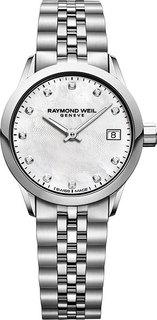 Швейцарские женские часы в коллекции Freelancer Женские часы Raymond Weil 5626-ST-97081