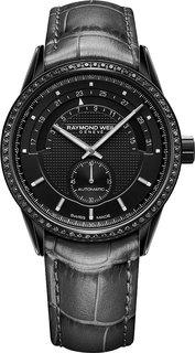 Швейцарские женские часы в коллекции Freelancer Женские часы Raymond Weil 2778-BKS-20001