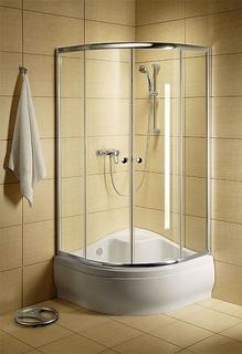 Душевое ограждение Classic A 1700 90x90 Профиль белый стекло прозрачное Radaway