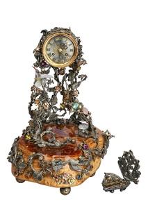 Сувенир «Каминные часы» Кремлевские Мастера