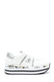 Молочно-белые кроссовки Beth Premiata