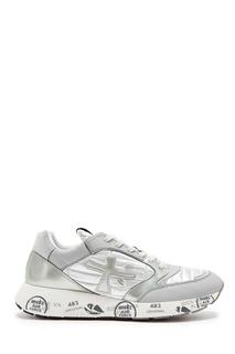 Серебристые комбинированные кроссовки Zac-Zac Premiata